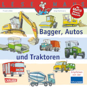 Lesemaus Band 151 Bagger, Autos u.Traktoren