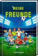 Freundebuch - Meine Freunde - Fußballfreunde, gebundenes Buch, 96 Seiten, ab 6 - 12 Jahre