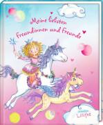 Freundebuch - Meine liebsten Freundinnen u. Freunde - Prinzessin Lillifee, gebundenes Buch, 96 Seiten