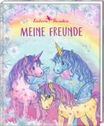 Freundebuch - Meine Freunde - Einhornparadies, gebundenes Buch, 96 Seiten, ab 6 - 12 Jahre
