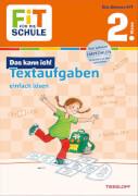 Textaufgaben einfach lösen 2. Klasse, Schulbuch, 48 Seiten, ab 7 Jahren