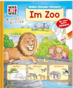 WAS IST WAS Kindergarten Malen Rätseln Stickern Im Zoo