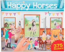 Depesche 10747 Create your Happy Horses - Stickerbuch