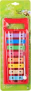Boogie Bee Metallophon, 8 Noten, 29 cm, Kinderinstrument, ca. 29x11x2,5 cm, ab 3 Jahren