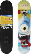 New Sports Skateboard Cyclops, LED Räder, 78 cm
