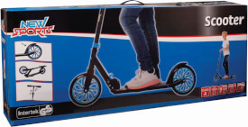 New Sports Scooter Blau/Schwarz, 200 mm, ABEC 7