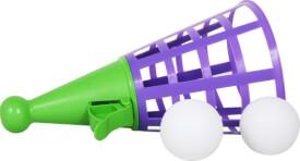 SpielMaus Outdoor Jumbo-Fangbecher mit 2 Bällen, # 34 cm