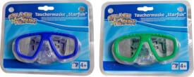Splash & Fun Tauchmaske Starfish, ca. 14,5x7x9 cm, ab 4 Jahren