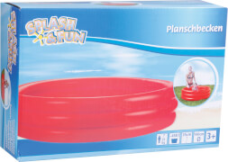Splash & Fun Pool uni # 140 x 35 cm
