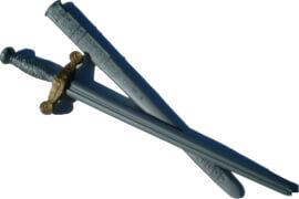 Ritterschwert silberfarben, ca. 76 cm