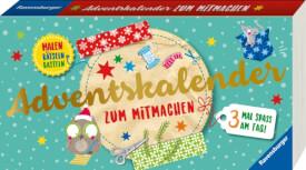 Ravensburger 55319 Adventskalender zum Mitmachen