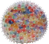 Quetschball mit Perlen und Noppen 8cm