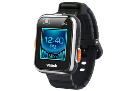 Vtech 80-193864 Kidizoom Smart Watch DX2, schwarz