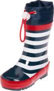 Playshoes Gummistiefel maritim, marine/weiß, Gr. 22/23