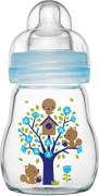 MAM Feel Good Glass Bottle (Jungen), 170 ml