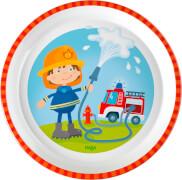HABA - Teller Feuerwehr, # 18 cm