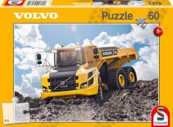 Schmidt Puzzle 56285 Baufahrzeuge Volvo A30G, 60 Teile, ab 5 Jahre