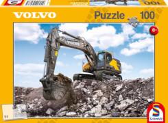 Schmidt Puzzle 56286 Baufahrzeuge Volvo EC380E, 100 Teile, ab 6 Jahre